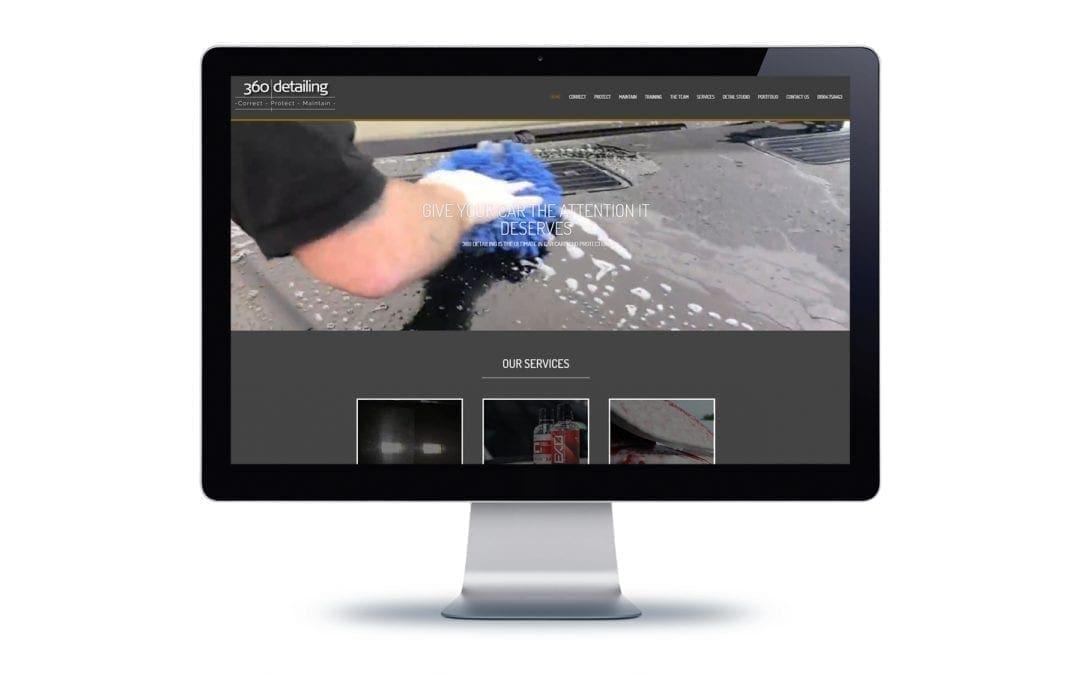 Web Design – 360 Detailing