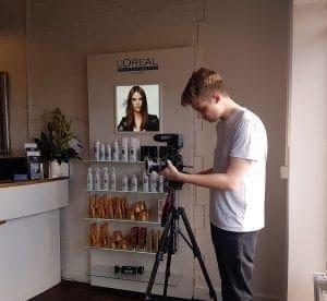 360 video level hair salon bournemouth