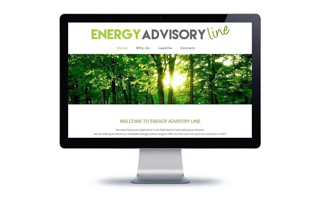 Web Design – Energy Advisory Line