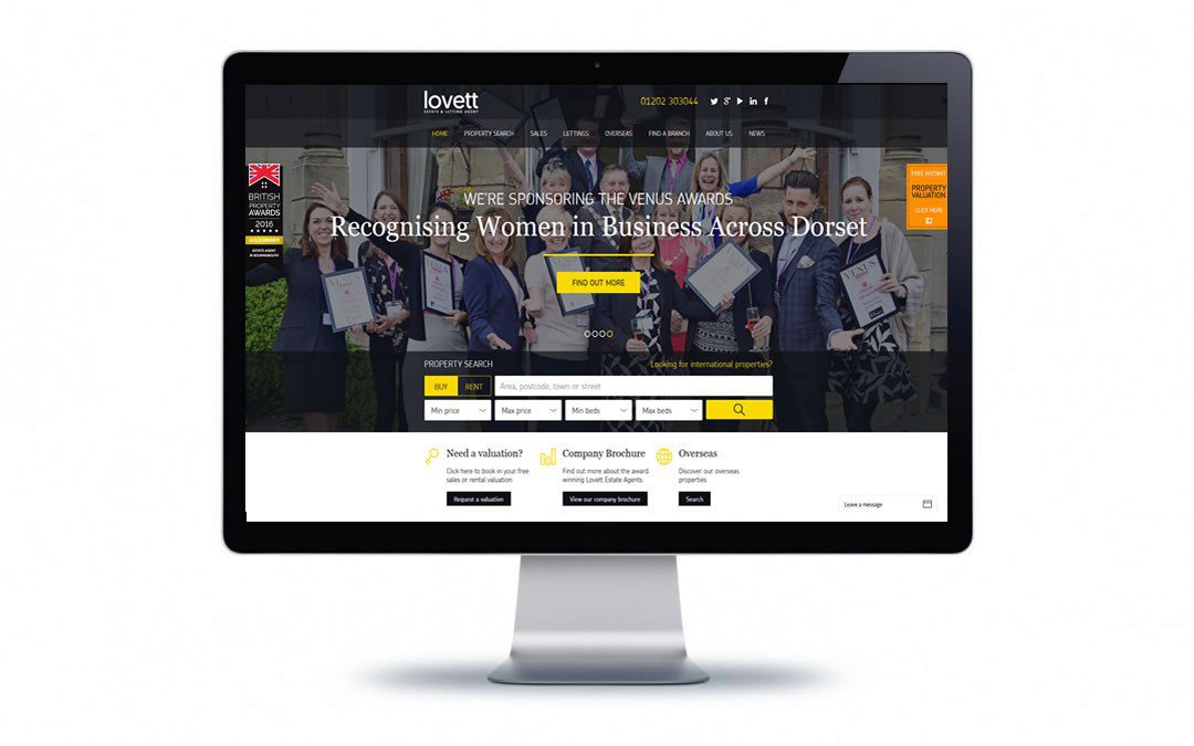 Web Design – Lovett Bournemouth