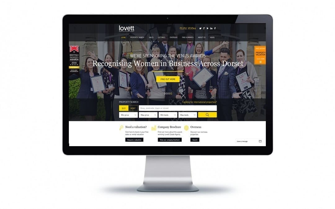 Web Design – Lovett Bournemouth