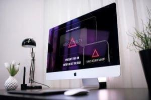 Nightclub Web design