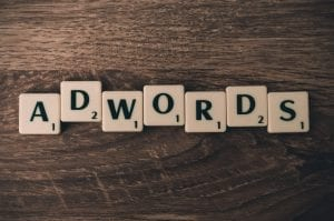 Online advertising Google Adwords