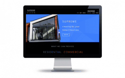 Web Design – Supreme Clean