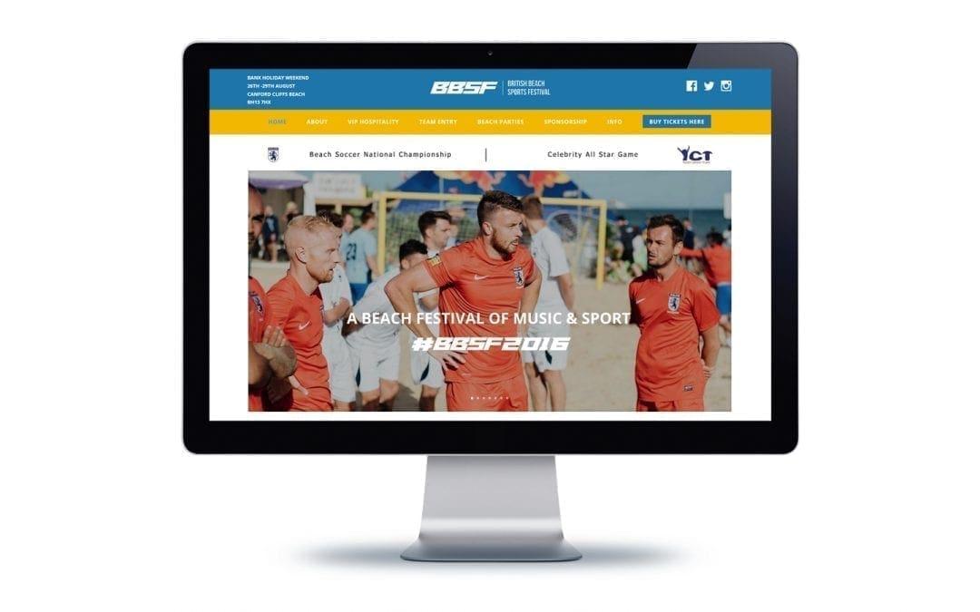 Web Design Bournemouth Beach Soccer