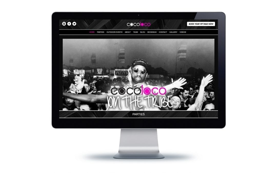 Web Design – Cocoloco Tribe Bournemouth