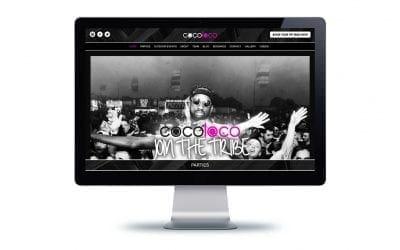 Web Design – Cocoloco Tribe Bournemouth