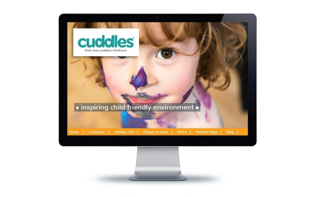 Web Design – Cuddles Nursery Bournemouth & Poole