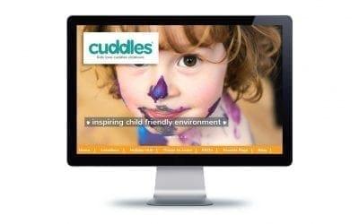 Web Design – Cuddles Nursery Bournemouth & Poole