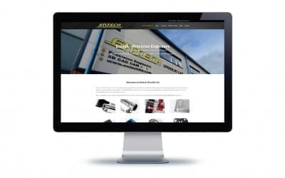 Entech (Poole) Ltd WordPress Website Design