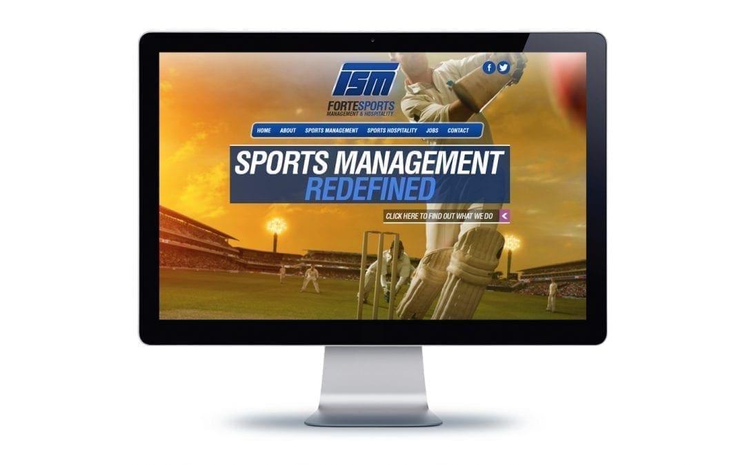 Web Design – Forte Sports