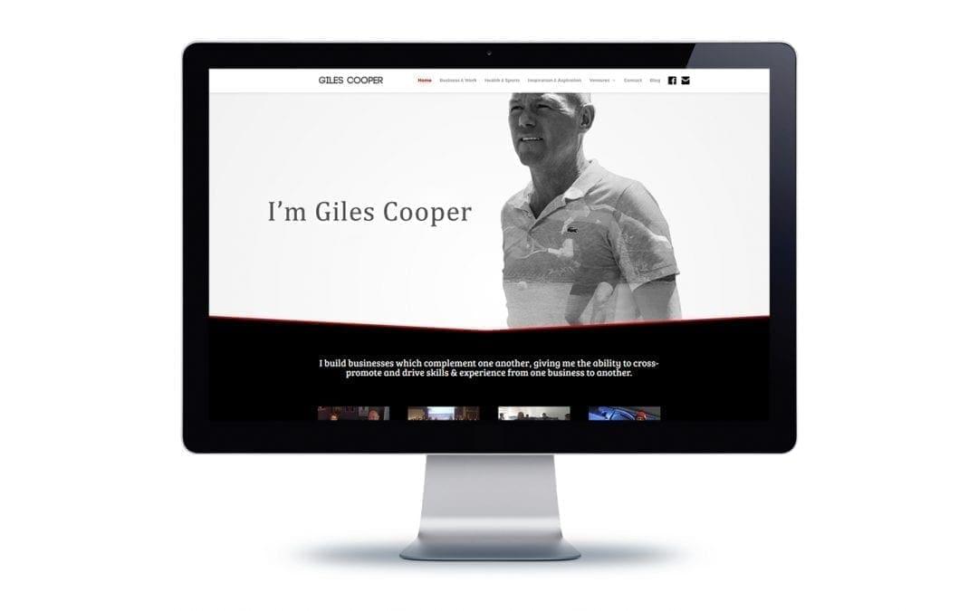 Web Design – Giles Cooper