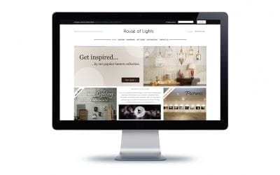 Web Design – House of Lights Westbourne