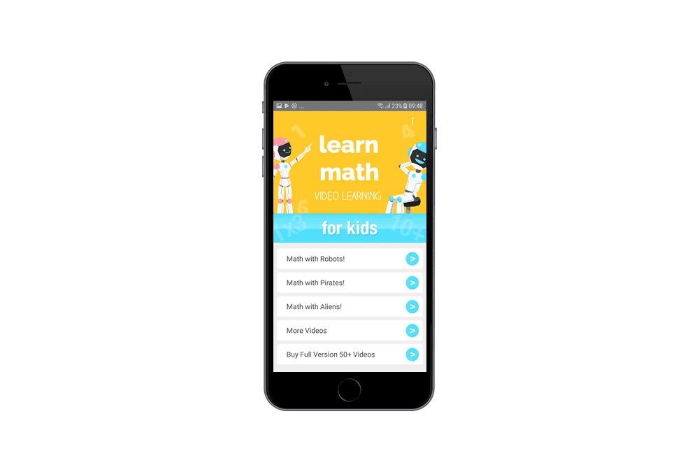 Learn Math – Mobile Apps