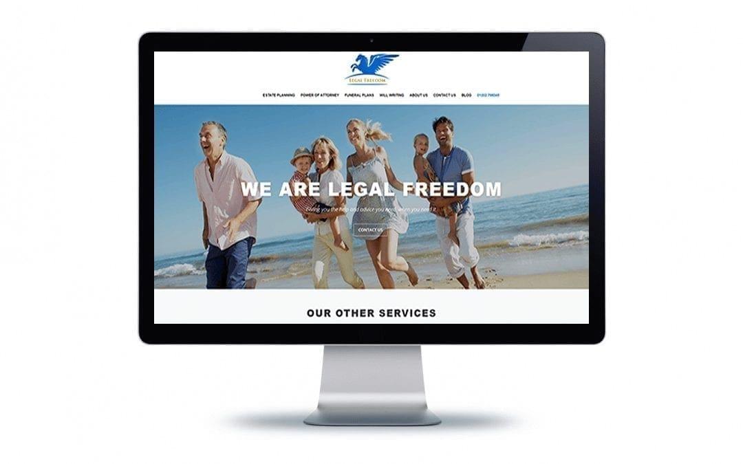 Web Design – Legal Freedom