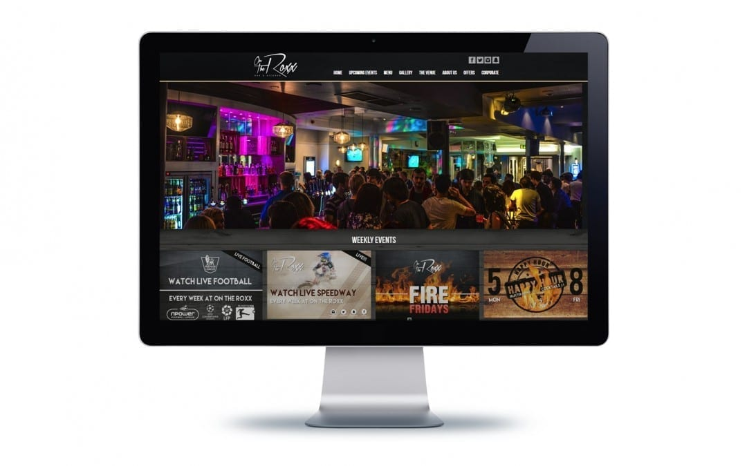 On The Roxx Website Design