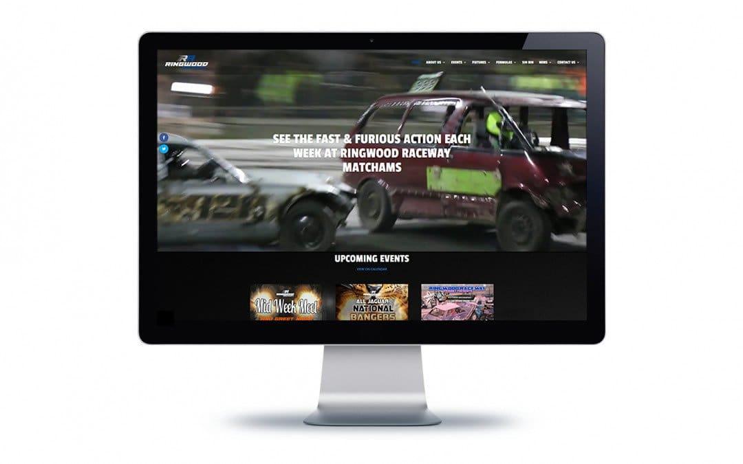 Web Design – Ringwood Raceway