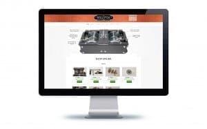 Rollstock Joomla Website Design