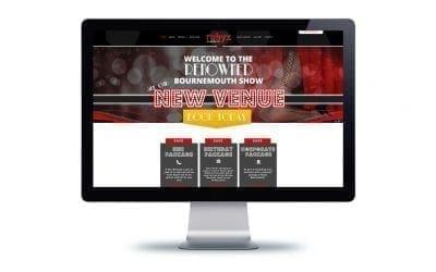 Rubyz Bournemouth Website Design