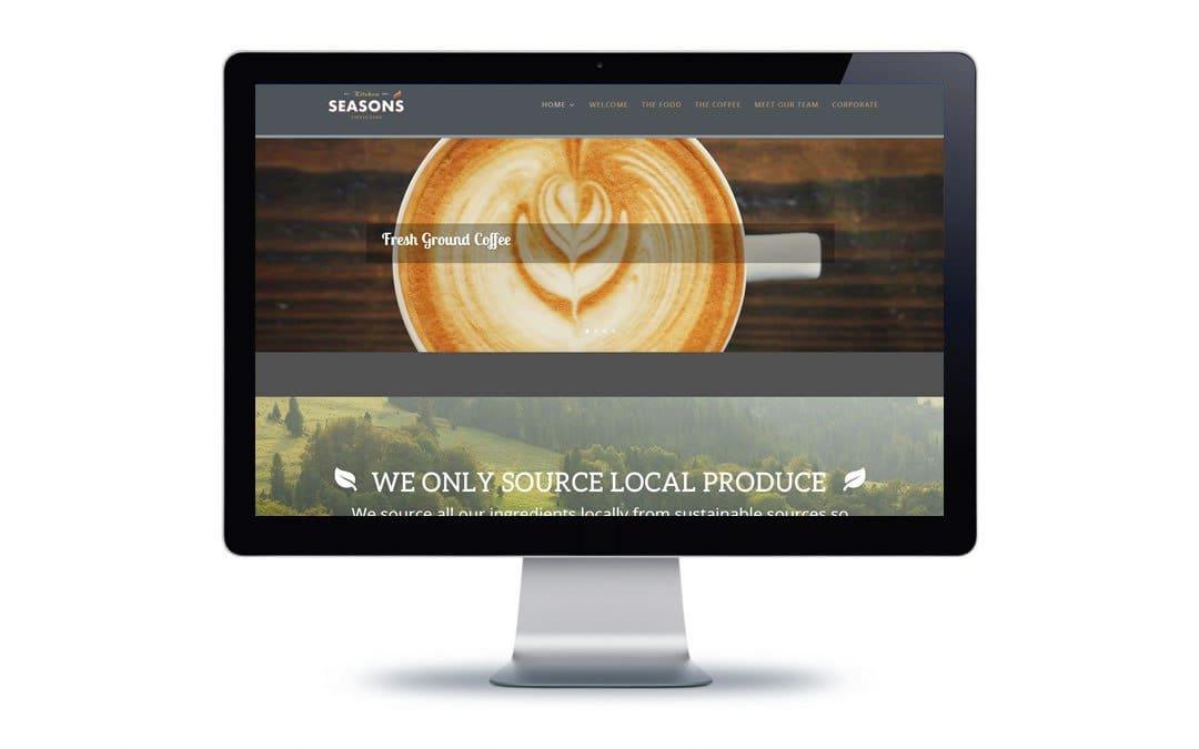 Web Design – Seasons