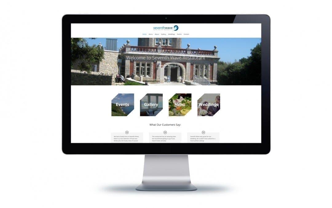Seventh Wave Website Design