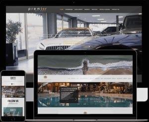 web design bmth mobile premier