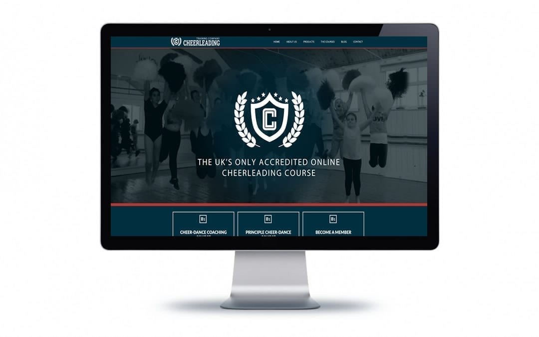 Web Design – Cheerleading Training Company Bournemouth