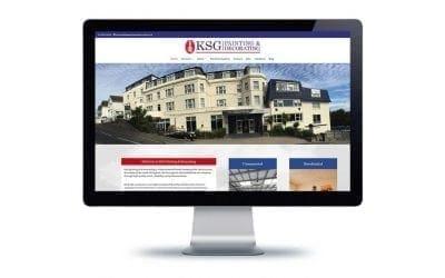 Web Design – KSG Decorating Bournemouth