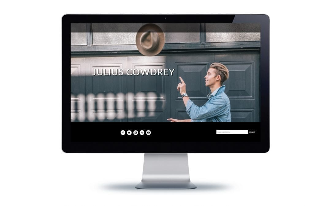 Web Design – Julius Cowdrey