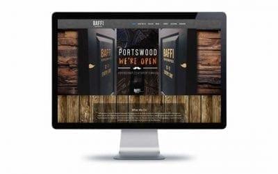 Web Design – Baffi Neapolitan Pizza
