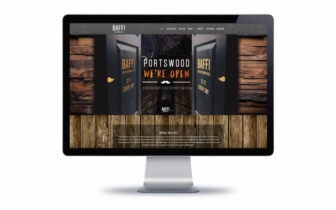 Web Design – Baffi Neapolitan Pizza