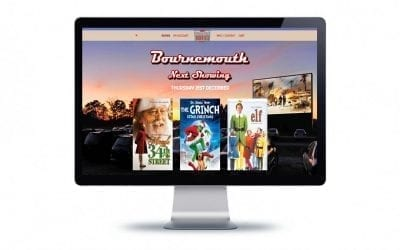 Web Design – Drive In Movies
