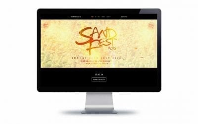 Web Design – SandFest Bournemouth