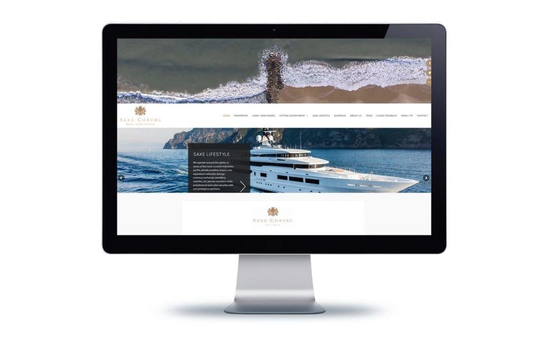Web Design – Saxe Coburg Bournemouth