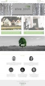 Web Design Silver Birch Estate Agents Bournemouth & Poole