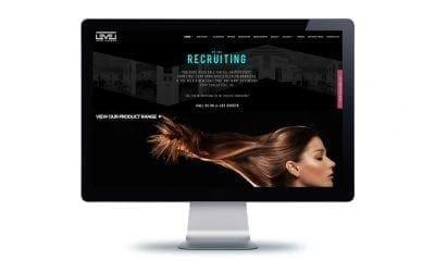 Website Design – Level Hair