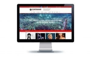 Website Design Contraband Events
