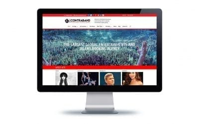 Web Design – Contraband Events