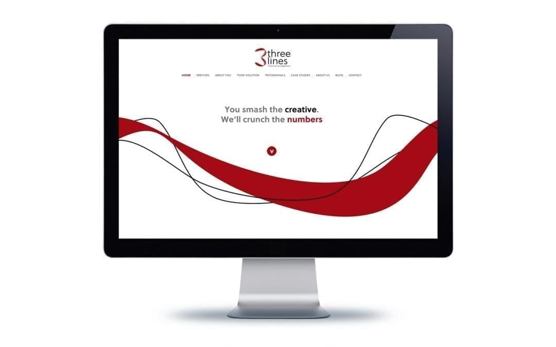 Web Design – Three Lines Management